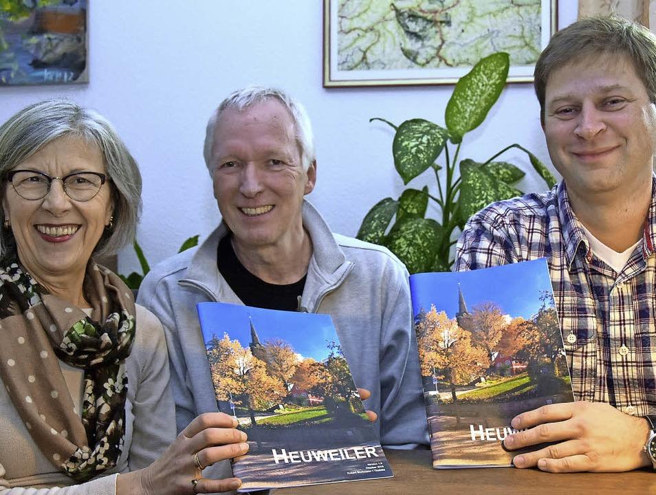 Die Macher der neuen Infobroschüre Heu...gers, Andreas Uschok und Thomas Frank   | Foto: Andrea Steinhart