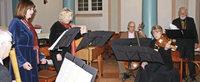 Musikensemble bereitet dem Publikum viel Freude