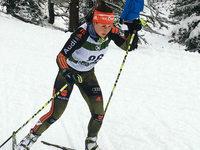 Christin Maier gewinnt Sprint und wird Zweite