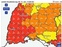 Deutscher Wetterdienst warnt vor Unwetter im Kreis Lörrach