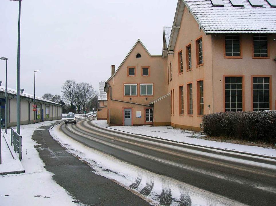 Wenn die L 114 ab Montag, 16. Januar g...dringen von Emmendingen nach Teningen.  | Foto: Sylvia-Karina  Jahn