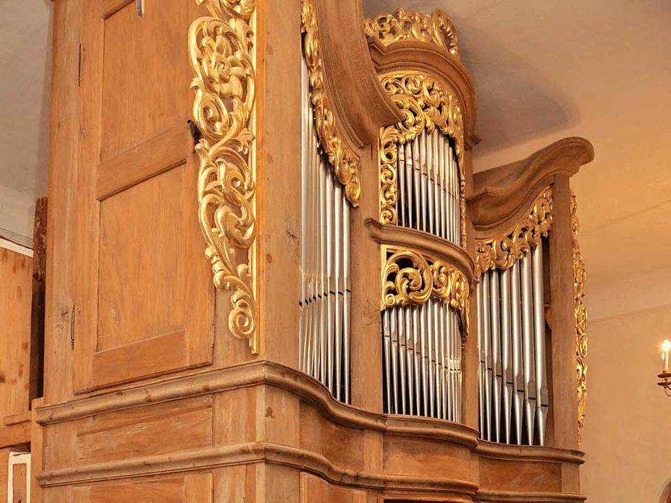 Dass die Pottier-Orgel in der Kirche i...t vor allem Roman Herzog zu verdanken.    Foto: Kai Kricheldorff