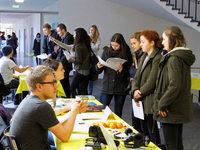 Künftige Studierende informieren sich an der Uni Basel