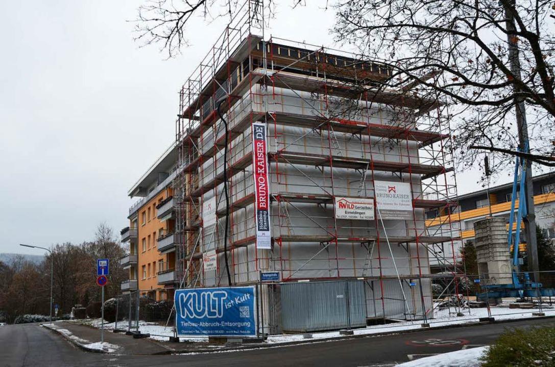 Derzeit läuft der Innenausbau in dem Haus in der Haagener Straße.  | Foto: Kathrin Ganter