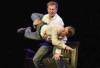 Impro-Show mit Simon Kuner und Christian Sauter im Weingut Dilger