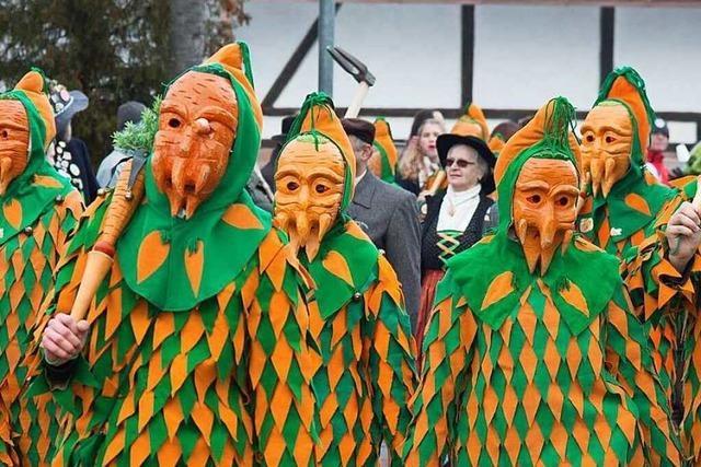 Fotos: Die Gelruewe-Ritter feiern in Münchweier