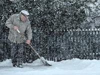 Schneeschippen ist Pflicht - werktags schon ab 7 Uhr