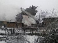 Bericht: 32 Tote bei Flugzeugabsturz in Zentralasien