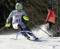 Egon hat Alpinen im Griff