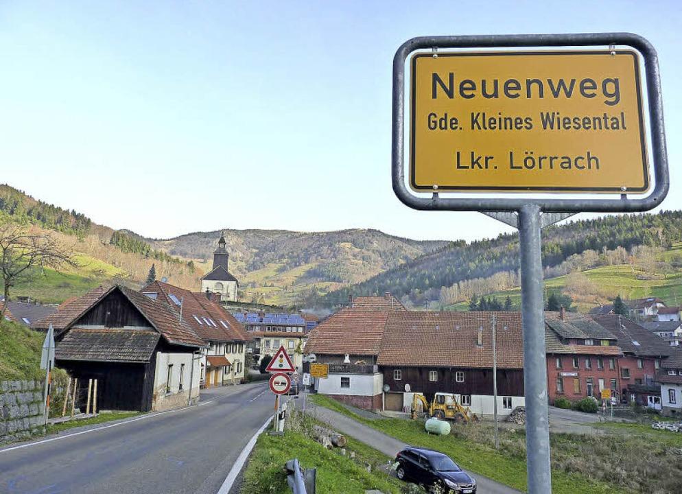 Neuenweg stieg rasch von einem Weiler ...em Dorf mit selbständiger Pfarrei auf.  | Foto: Dirk Sattelberger