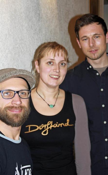 Neu im Vorstand des Radsportvereins Tr...nden Britta Gümpel und Janusch Laule.   | Foto: Gerd Leutenecker