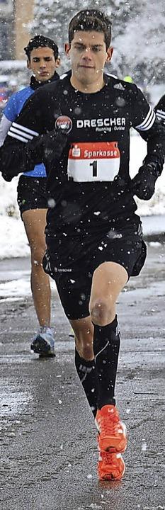Bestätigte seine Startnummer beim Allmendlauf: Fritz Koch  | Foto: Murst