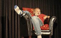 Comedian Otmar Traber im Bolando in Bollschweil