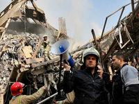 Einkaufszentrum stürzt beim Löschen ein – 20 Tote