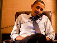 Barack Obamas letzter Anruf gebührte Angela Merkel