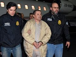 """Geschenk? Mexiko liefert Drogenboss """"El Chapo"""" aus"""