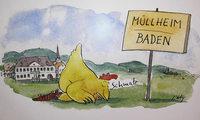 Zeichnungen von Peter Gaymann in Müllheim