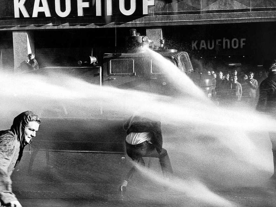 Im Frühjahr 1968 ging  in Freiburg die...m öffentlichen Nahverkehr protestiert.  | Foto: B0300 Hartmann