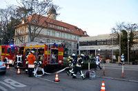 Rauchgeruch im Keller löst Alarm am Schiller-Gymnasium aus