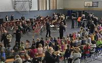 Lehrreiches Konzert mit dem Landespolizeiorchester Brandenburg