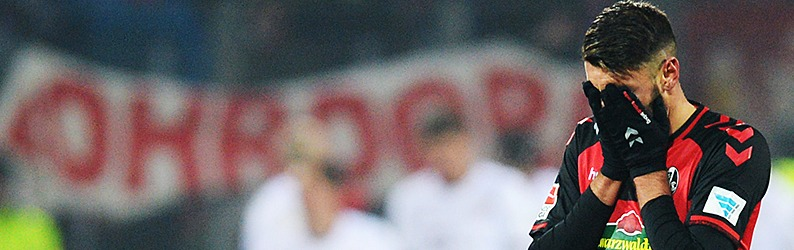 SC Freiburg unterliegt Bayern nur knapp mit 1:2