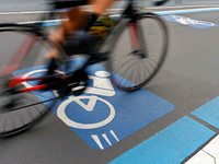 Pendler auf dem Rad: Verbindungen werden geprüft
