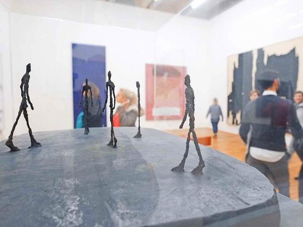 Viel los war bei der Basler Museumsnacht 2017