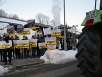 Video: Trekker-Demo gegen Pumpspeicherkraftwerk Atdorf