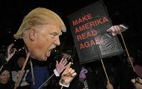 Reaktionen auf Donald Trumps Vereidigung