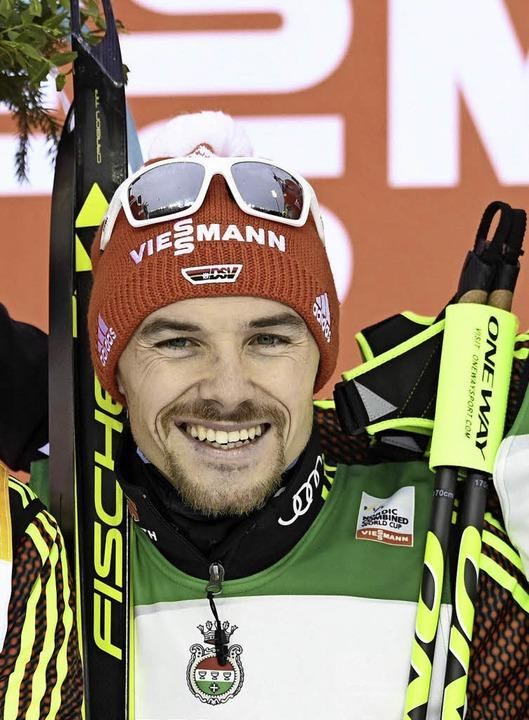 Zum fünftem Mal Weltcup-Einzelsieger: Fabian Rießle     Foto: dpa