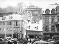 Acht Gebäude am Schwabentor überstanden den Bombenangriff – und wurden trotzdem abgerissen