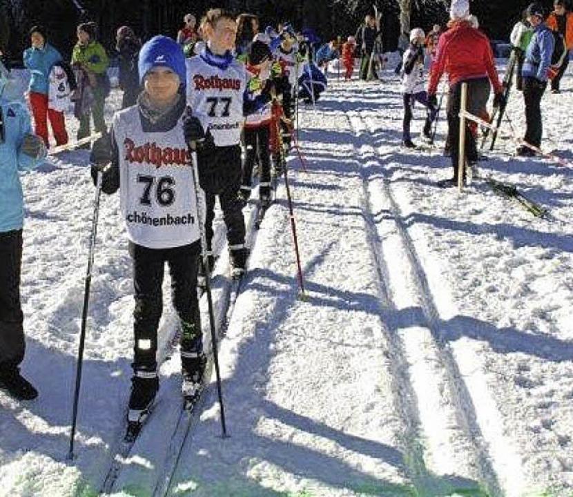 Den Kindern war die Vorfreude auf das erste Rennen des Winters  anzumerken.   | Foto: Junkel