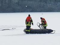 DLRG-Offenburg  warnt vor Eisunfällen auf gefrorenen Seen