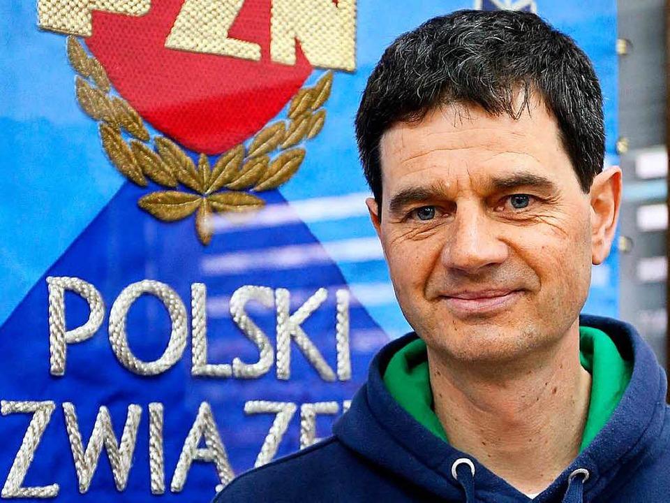 """Ich war gerade zwei Wochen in P...0; – Chefcoach Stefan Horngacher  | Foto: Grzegorz Momot"