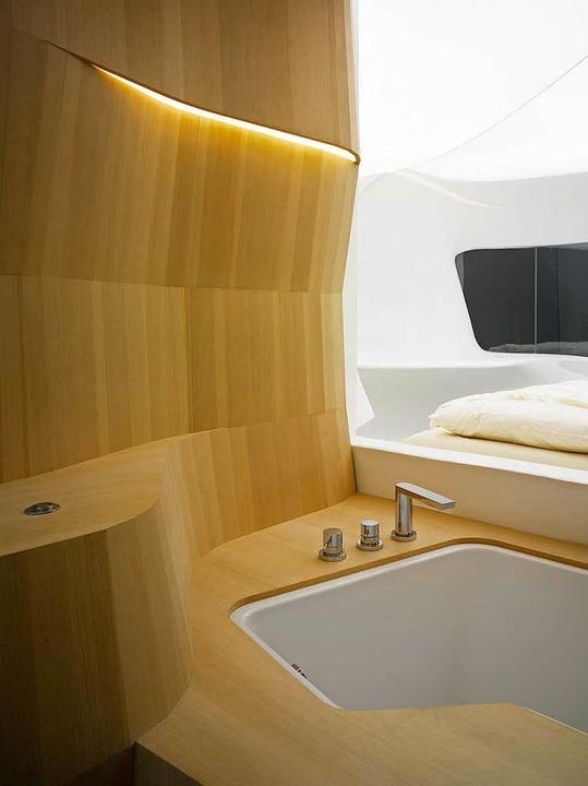 So könnte das Hotelzimmer der Zukunft aussehen  | Foto: © gee-ly Zürich und Fraunhofer IAO Design: LAVA