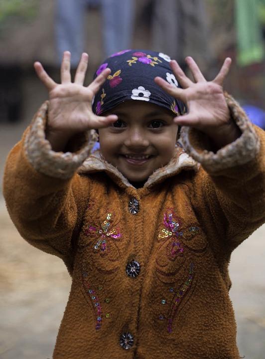 In der Vorschule lernen Kinder aus armen Familien Rechnen.  | Foto: Mati