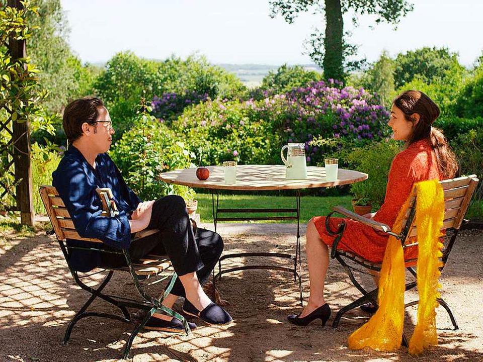 Frage- und Antwortspiel über die Liebe...Reda Kateb in Wim Wenders' Film     Foto: dpa
