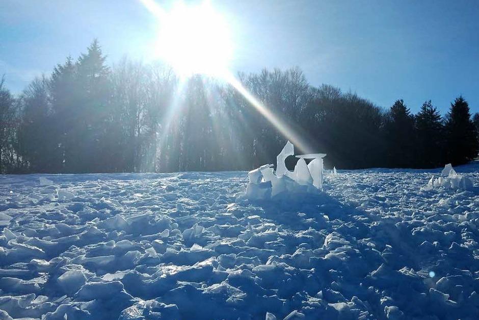 Winterimpressionen aus dem Elztal und Umgebung von verschiedenen Fotografen. (Foto: Irene Muffler)