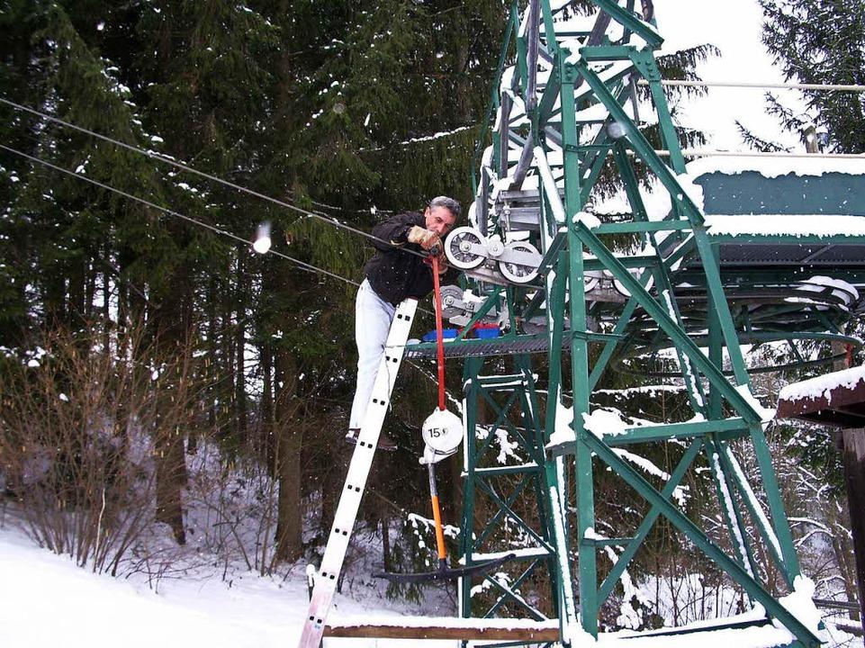 Auch wenn er selten läuft, wir er lauf...el von Skiclubmitglied Uli Grieshaber.  | Foto: privat