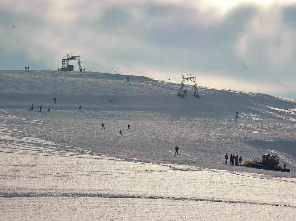 An schneereichen Tagen macht Südbadens tiefste Piste durchaus etwas her.  | Foto: Alexander Färber