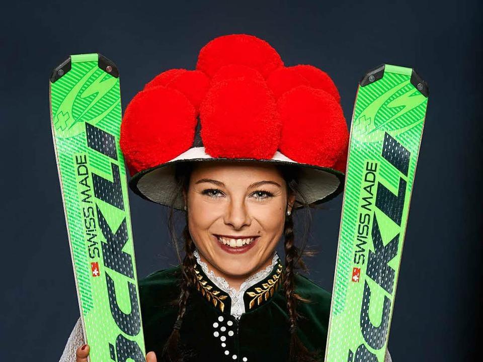Skicrosserin Daniela Maier aus Furtwan...rstmals in ihrer Schwarzwälder Heimat.  | Foto: privat