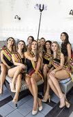 Miss-Germany-Bewerberinnen trainieren fürs Finale