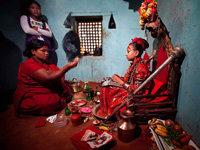Kult in Nepal: Von einer Göttin zum normalen Mädchen