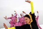 Fotos: Kampfkunst-Schülerinnen aus Afghanistan üben im Schnee