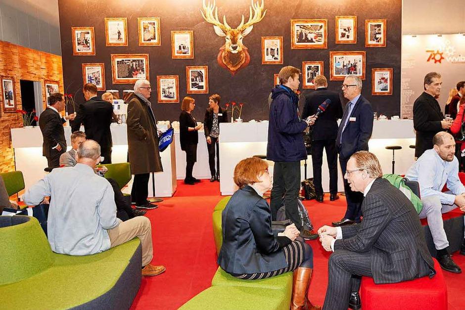 Treffpunkt der südbadischen Wirtschaft: die WVIB-Lounge. (Foto: WVIB)