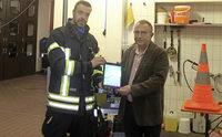 Ein Tabletcomputer für die Feuerwehr