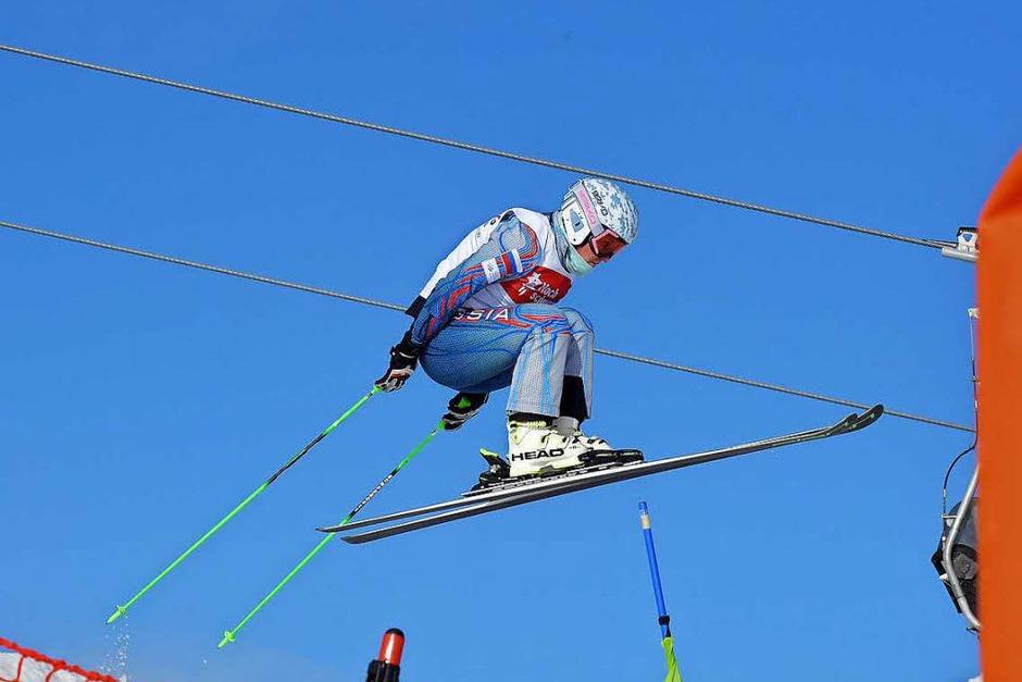 Skicross am Feldberg. (Foto: Wolfgang Scheu)