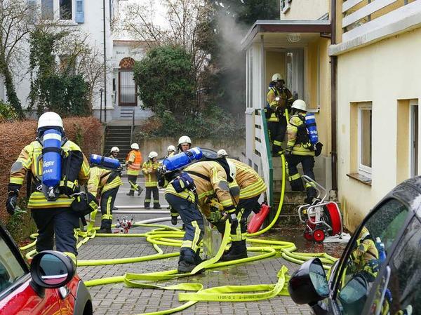 Der Brand war schnell unter Kontrolle.