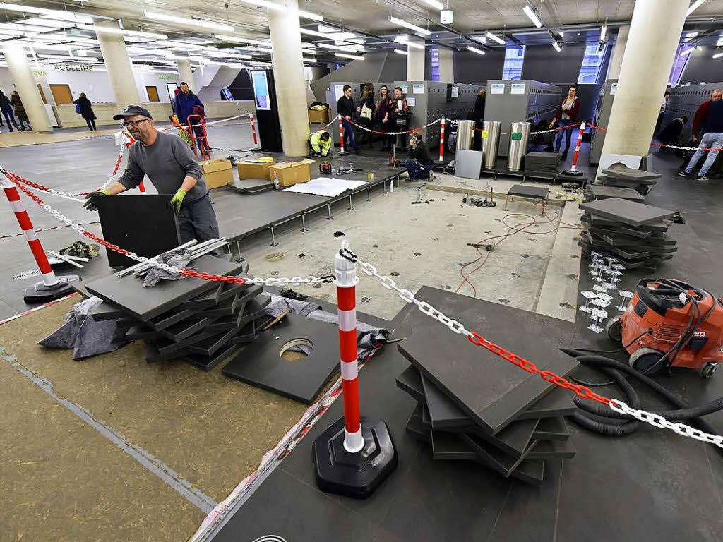 Fußboden Verlegen Freiburg ~ Beschädigter ub boden wird endlich repariert freiburg badische