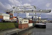 Schweizerische Rheinhäfen verzeichnen Rekordumschlag bei Containern